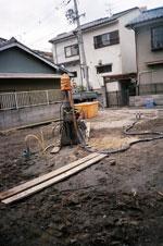 地盤改良 施工事例